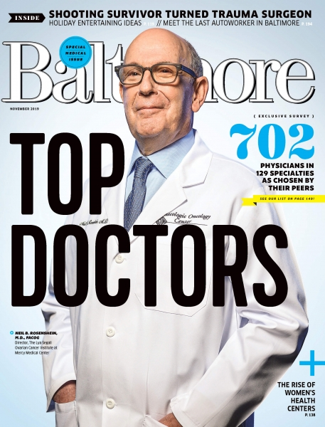 Baltimore Magazines top doctor 2019