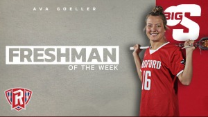 Ava Goeller - Freshman of the Week