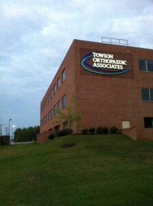 Towson Orthopaedic Associates- Bel Air Location