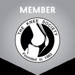 The Knee Society Member Badge