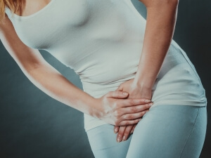 Groin pain is a common symptom of hip impingement