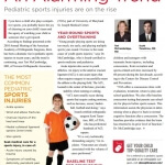 An Alarming Trend: Pediatric sports injuries are on the rise