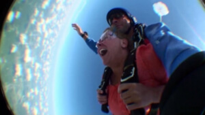 Ginnie S. Skydiving