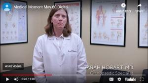 WBAL TV features Dr Sarah Hobart