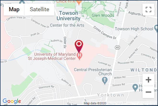 Towson Ortho ODea location. Click for a Google map and directions.