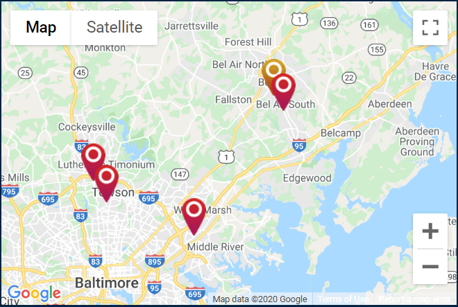 Towson Ortho - ALL Locations. Click for a Google map and directions.